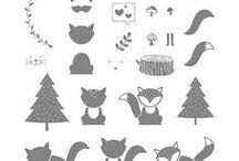 Cards - Foxy Friends