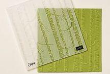 Cards - Woodlands Embossing Folder