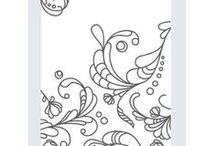 Cards - Elegant Lines Embossing Folder