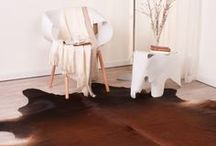 RUGS | hides / Showcasing our hides rugs and carpets that you can check out at www.carpetcentre.com - made from pure and natural materials.