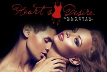 Heart's Desire / Discover a new type of romance with our exquisite array of sensual boutique products to unmask hidden desires and lead you to a sexy new adventure.  / by Classic Erotica