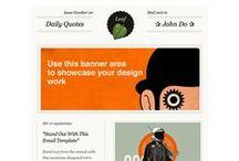 E M A I L / // email marketing design ideas //
