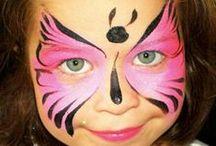 Facepainting butterflies