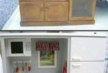 Wendy house kitchens...