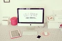 ➳ Home Inspiration - WORKSPACE ♥