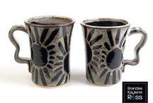 Mugs / Handmade stoneware mugs - www.brandeeross.com