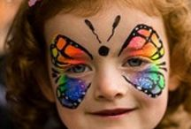 A face paint: butterfly / by Susan Peavey