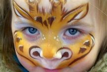 A face paint: animals / by Susan Peavey
