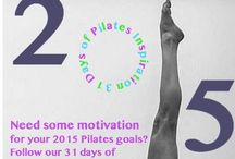 Pilates Inspiration / 31 days of Pilates