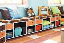 * Pokój dla dzieci - design * / Inspiracje w urządzaniu pokoju dla dzieci. Kolorystyka, detale, projekty, ciekawe pomysły.