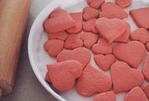 Walentynki / Przepisy z bloga http://baby-w-kuchni.blogspot.com i inspiracje.