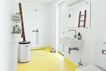 * Łazienka - design * / Inspiracje w urządzaniu łazienki. Projekty, kolorystyka, detale.