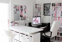 * Biuro freelancera - design * / Inspiracje do urządzenia biura w swoim domu. Kolorystyka, ciekawe rozwiązania, detale, projekty.