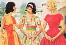 The Swinging 60s / A colourful time travel back to the swinging sixites. Beautiful vintage fashion and lifestyle inspiration.