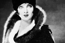 The Roaring 20s / Glamorous 1920s fashion inspiration. Flapper, cloches, feathers, and more