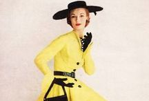 The Fabulous 50s / A moodboart with a lot of fashion and lifestyle inspiration from the fabulous fifties.