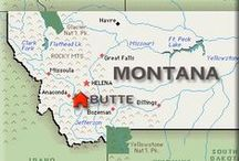 MY HOMETOWN-BUTTE,MT / Nothing like Montana! Can take the girl out of Montana but not the Montana out of the girl! I was born and raised in Butte, Montana and it will always be home to me!