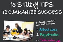 College Study Tips and More / Tips on how to succeed throughout college such as studying, tests, note taking, writing essays, presentations, procrastination etc.