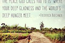 Inspirational words!