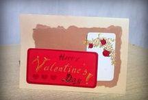 Handmade cards Valentine's Day
