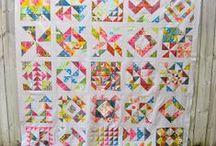 Patchwork -samplers quilt
