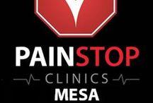 Pain Stop Mesa Clinic / 4540 E. Baseline #105 Mesa, Arizona 85206 (480) 272-8944 http://painstopclinics.com/pain-clinic-mesa http://dld.bz/PainStopMesa / by Pain Stop Clinics
