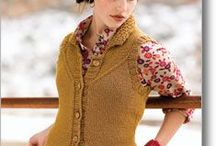 Vest Knitting Patterns / Sporty zip up vests to nerdy cabled vests, I love them all!