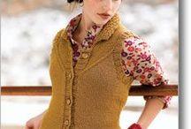 Vest Knitting Patterns / Sporty zip up vests to nerdy cabled vests, I love them all! / by Azalea & Rosebud Knits