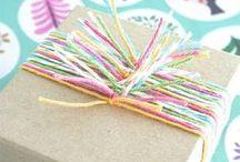 Yarn wrapping ideas/ Ideas para envolver con estambre