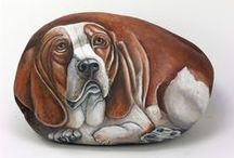 PAINTED STONES (Pets,Farm animals, Rodents -except Cats-) / Farm animals, Rodents, Pets -except Cats- / by Zoe Madison