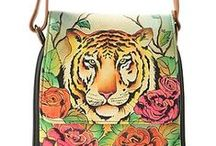 Painted Purses & Tote Bags / by Pamela Worley