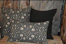 Montana Pillow Design / Custom pillows available through Grizzly Interiors