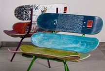 Longboard Art / What can you make out of recycled longboards or with new longboards