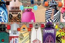 Interesting Boards - Longboards / Skateboards / Longboard skateboard board/decks designs / by Longboards USA