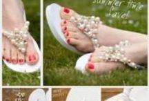 Summer Shoe Inspiration / Summer DIY Sandals