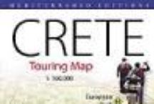 MAPS / Maps, crete, greece, mediterraneo editions