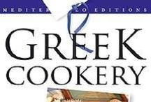 COOKERY-MEDITERRANEAN DIET / Greek recipies, cretan recipies, olive oil, book, mediterraneo, editions