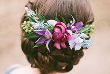accesorios,flores y peinados novia / boda