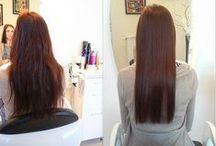 Zabiegi na włosy / Sposoby na regeneracje i poprawę stanu włosów.