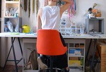 Crafting spaces/ Espacios para manualidades