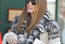 Olivia Palermo in fur / Olivia Palermo est une amoureuse inconditionnel de la fourrure, elle en porte très souvent. Ses fourrures sont sublimes: