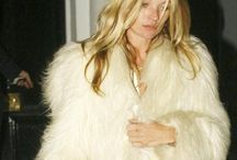Kate Moss in fur