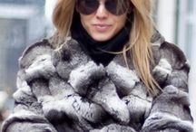 Maryna Lynchuk in fur