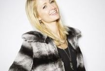 Paris Hilton in fur