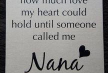 Logan / There's a little boy, whose stolen my heart. He calls me: Nana