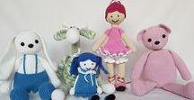 Crochet dolls - GrazkaGallery / Hand made crochet dolls. Lalki wykonywane na szydełku.