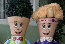 Get Creative With Flower Pots! / Ways To Use Flower Pots