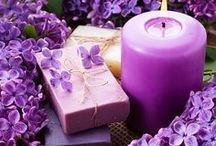 Colors purple and lilac