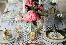 INSPIRING TABLES / beautiful table top and entertaining ideas / by Sue De Chiara | The Zhush