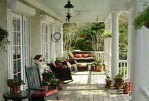 Outdoor Spaces / by Bonnie Jones